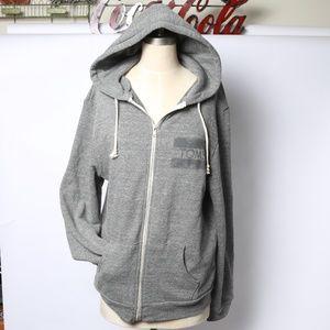 Classic Minimalist Toms unisex zip up hoodie